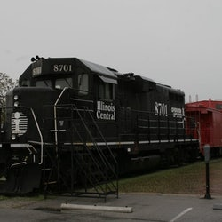 Old Illinois Passenger Depot Railroad Museum
