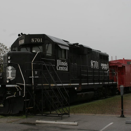 Old Illinois Passenger Depot Railroad Museum