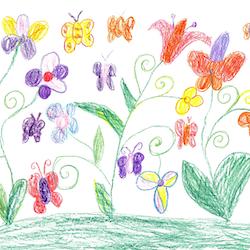 Live Stream Tell Me A Story Preschool Program Theme is Flowers