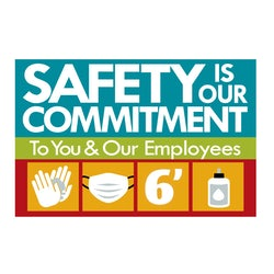 Safety is our Commitment graphic
