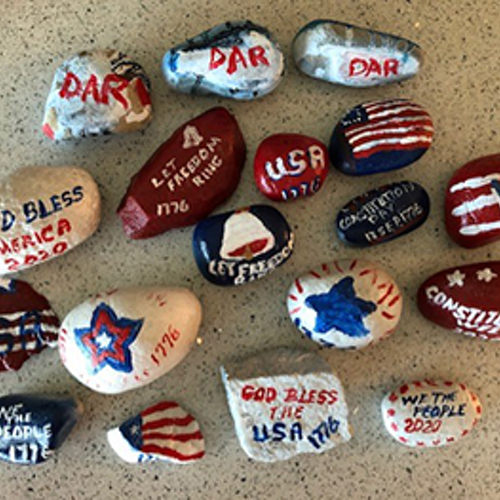 Constitution Week Rock Hunting