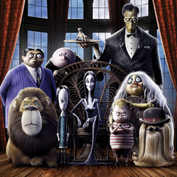 Addams Family promo poster