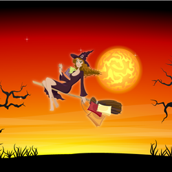 Witches Night Out in downtown Smithfield
