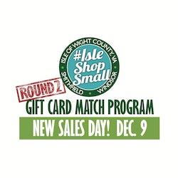 SOLD OUT Isle Shop Small Gift Card Sales Day