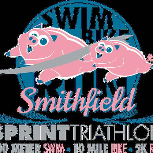 Smithfield Sprint Triathlon Relay  Aquabike
