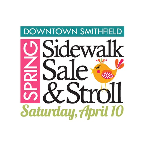 Downtown Smithfield Spring Sidewalk Sale and Stroll