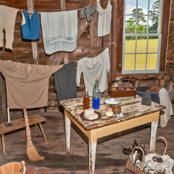 Restored and interpreted Laundry at Windsor Castle