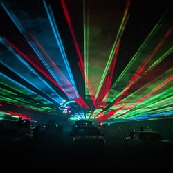 DriveIn Laser Light Show