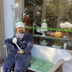 Scarecrow Stroll in Downtown Smithfield