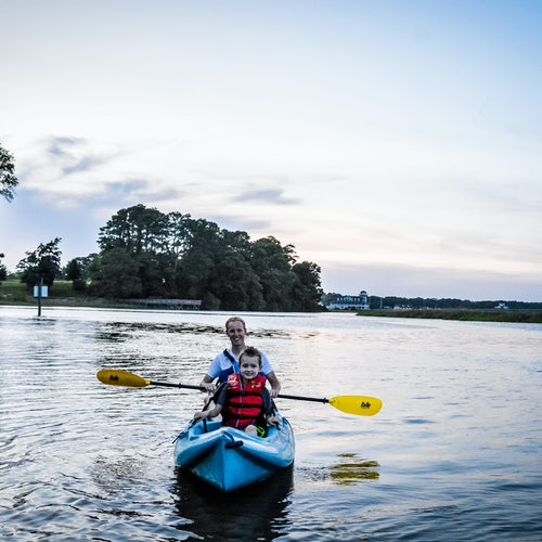 Outfitters for Kayak and Paddleboard Rentals at Windsor Castle Park