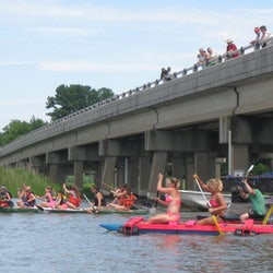 Pagan River Raft Race
