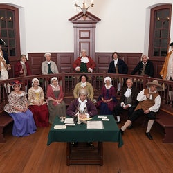 Court Day at the 1750 Isle of Wight Courthouse