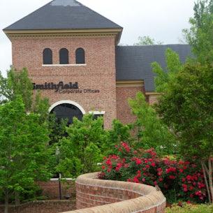 exterior of Smithfield Foods Corporate Headquarters