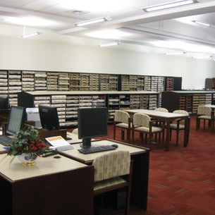 Randall Booth Records Room at the Isle of Wight County Courthouse Complex
