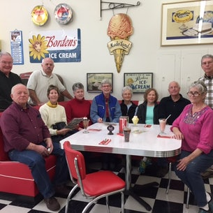 Group Tour at the Smithfield Ice Cream Parlor
