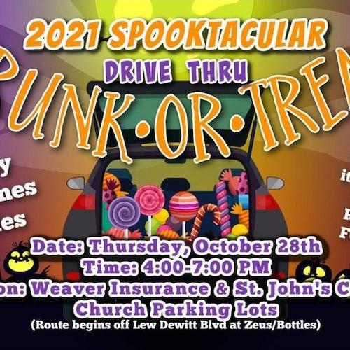 2021 Spooktacular Drive Thru Trunk or Treat